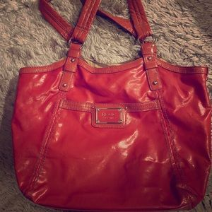 Orange Relic Brand Purse